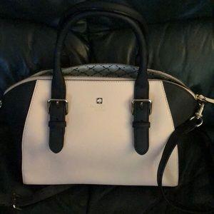 Kate Spade pink & black bag